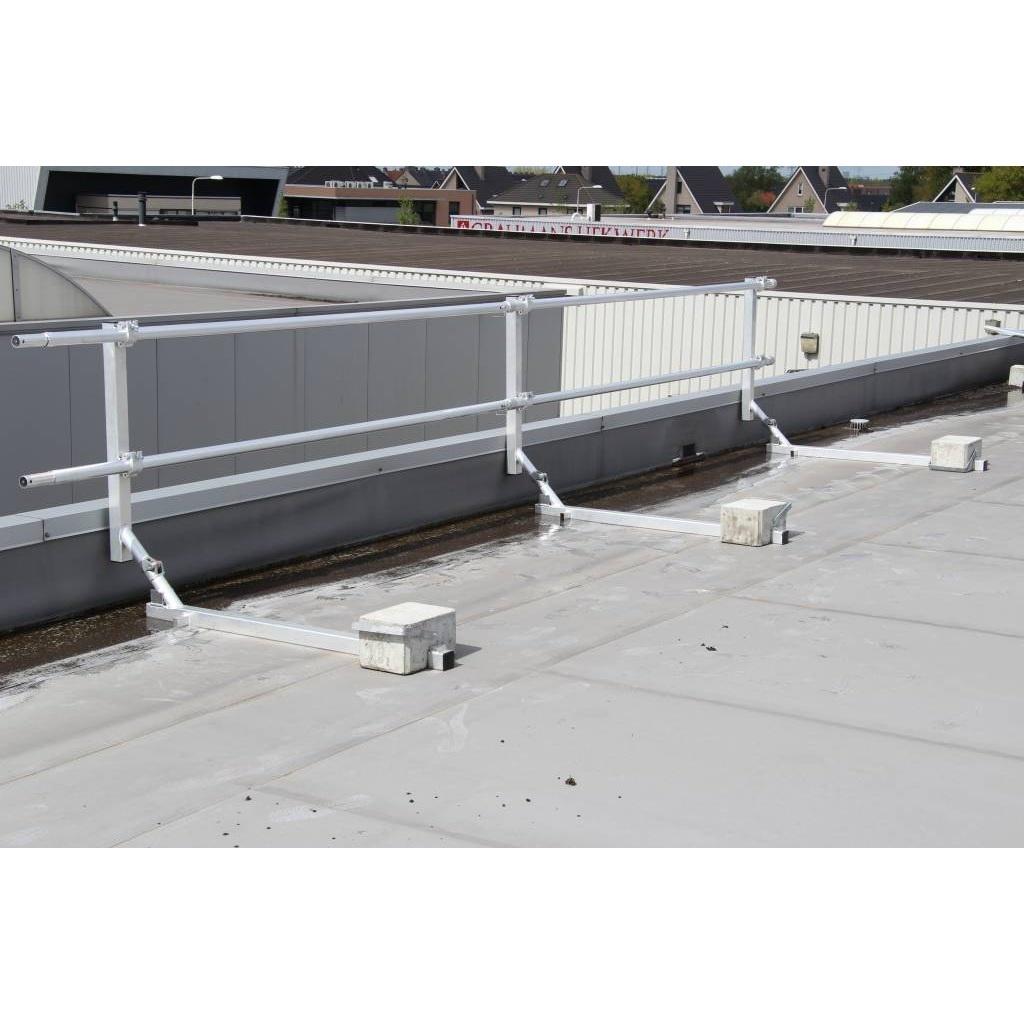 ASC Dakrandbeveiliging plat dak 12 m