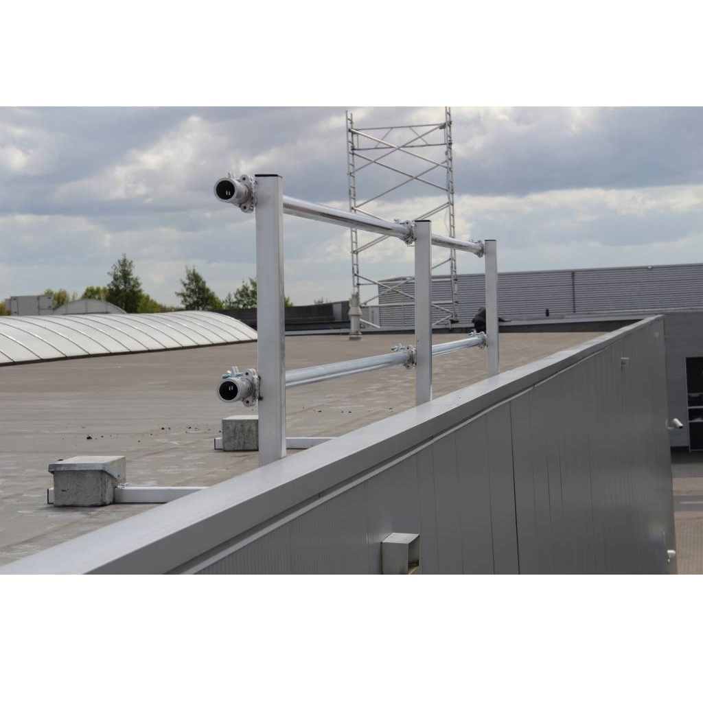 ASC Dakrandbeveiliging plat dak 18 m