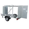 ASC Abschließbarer Gerüst Anhänger X Carrier 250