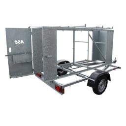 ASC Remorque verrouillable pour échafaudage X Carrier 305