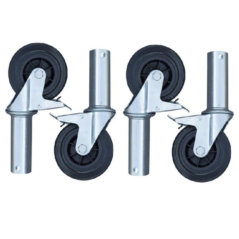 ASC Zimmerfahrgerüst Rollen Ø 125 mm (4 stück)