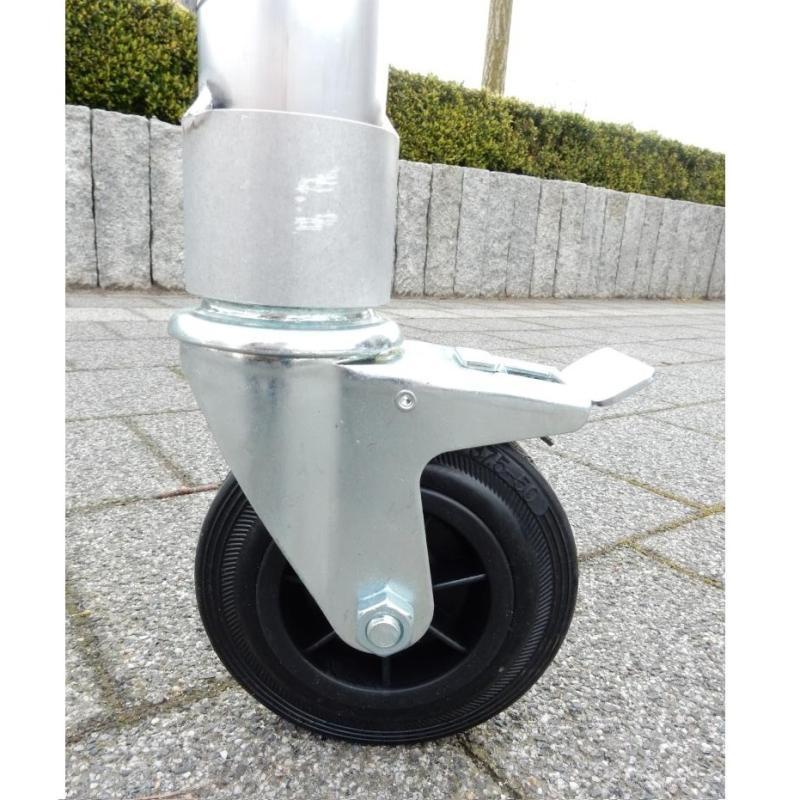 ASC Kamersteiger wielen Ø 125 mm (4 stuks)