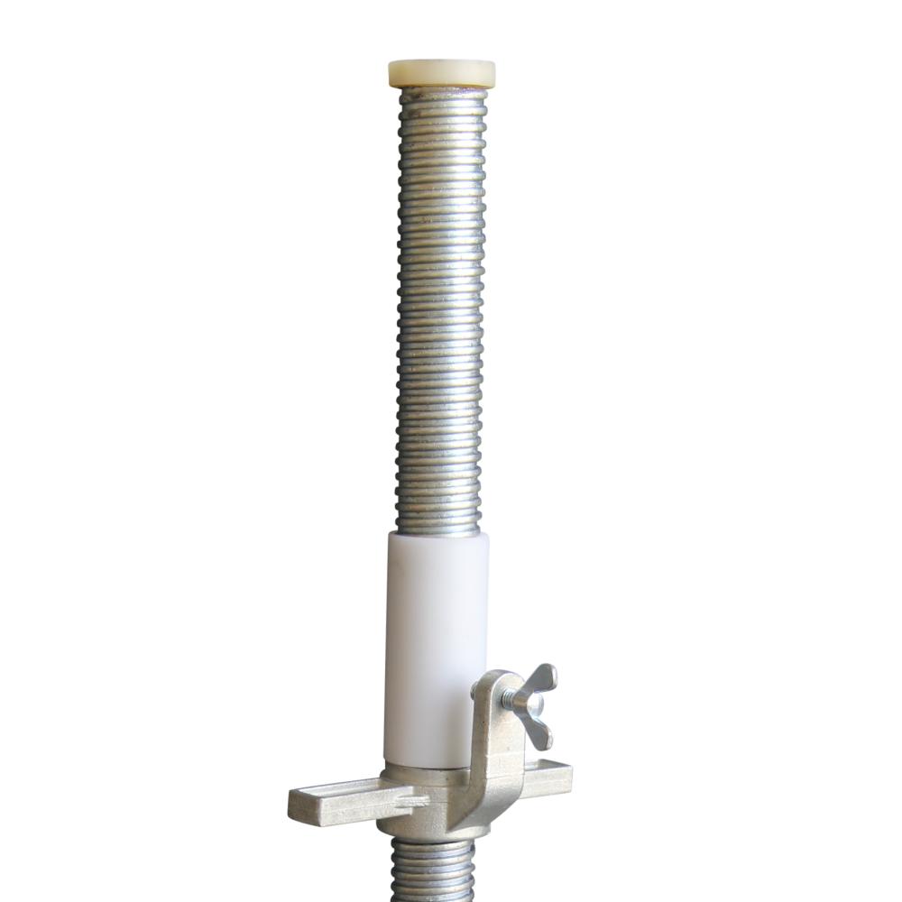 ASC Steigerwiel Ø 125 mm met stalen spindel kunststof (4 stuks)