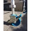 ASC ASC rolsteigerwiel 200 mm met aluminium spindel nylon (4 stuks)