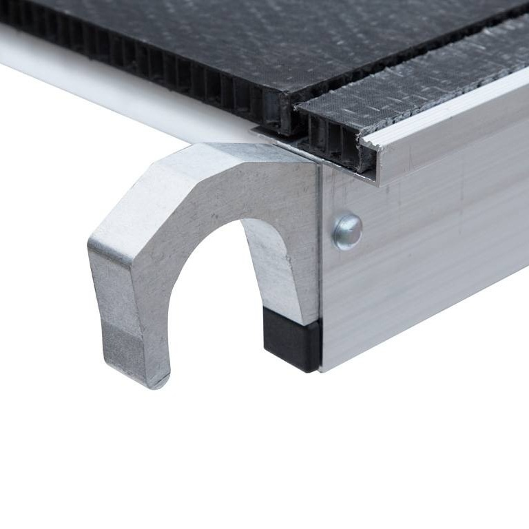 Rolsteiger platform 250 cm met luik