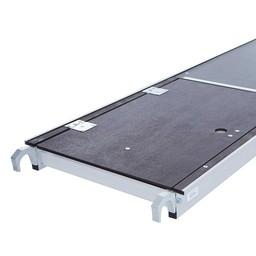 Rolsteiger platform 305 cm met luik