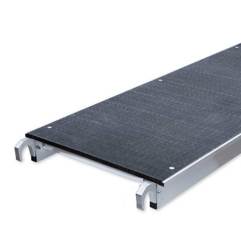 Rolsteiger platform 400 cm zonder luik