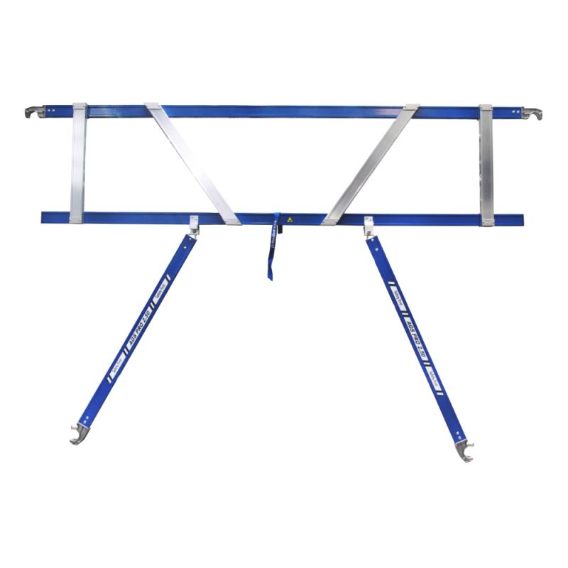 ASC Rolsteiger voorloopleuning enkel 75 x 250 x 5,2 m werkhoogte