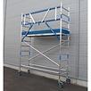 ASC Rolsteiger voorloopleuning enkel 75 x 190 x 4,2 m werkhoogte