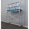 ASC Rolsteiger voorloopleuning enkel 75 x 305 x 4,2 m werkhoogte