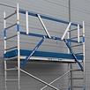 ASC Rollgerüst mit Montageschutzgeländer 75-190 x 7,2 m Arbeitshöhe