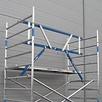 ASC Rolsteiger voorloopleuning enkel 135 x 250 x 7,2 m werkhoogte