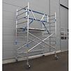 ASC Rollgerüst mit Montageschutzgeländer 135-190 x 4,2 m Arbeitshöhe