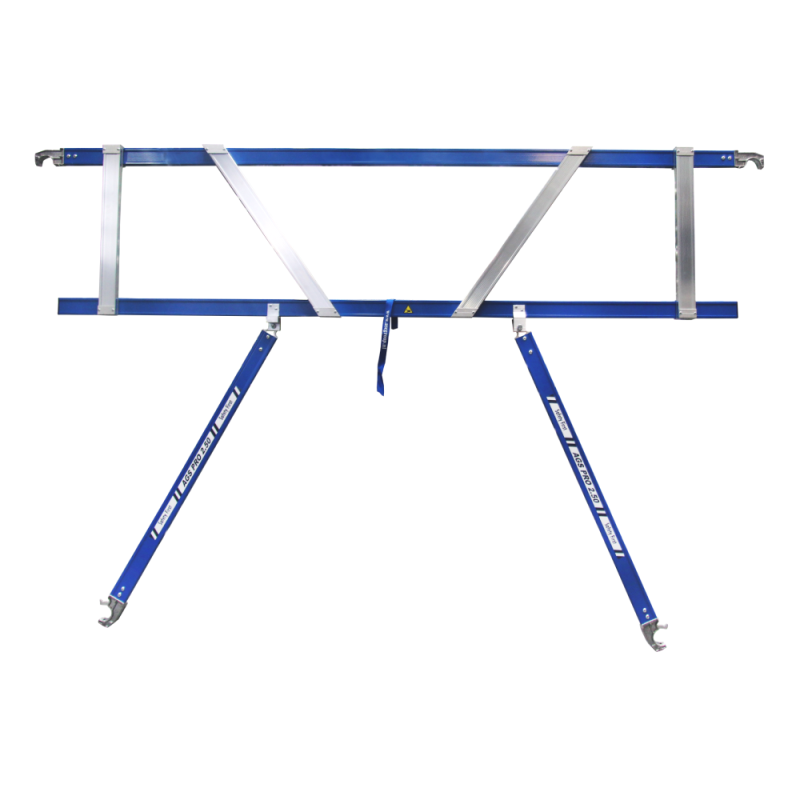 ASC Rolsteiger voorloopleuning enkel 135 x 190 x 5,2 m werkhoogte