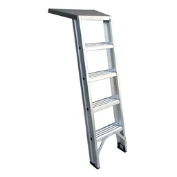 Das Ladders Trittleiter für Fuger 6 Stufen
