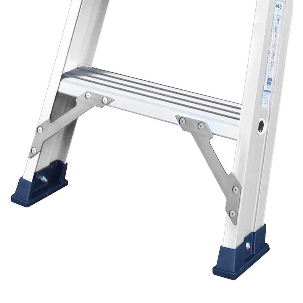 Das Ladders Trittleiter für Fuger 7 Stufen