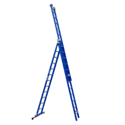 ASC ASC XD ladder met stabilisatiebalk 3x12 sporten