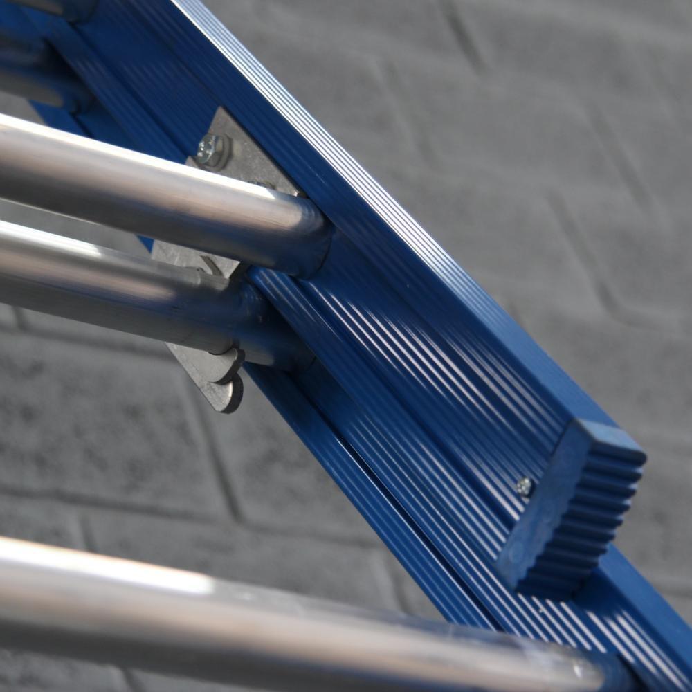 ASC ASC XD Anlegeleiter 2x16 Sprossen mit Traverse