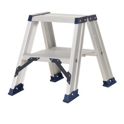Das Ladders Das Hercules ano Stehleiter beidseitig begehbar 2 x 2 Sprossen DT2A