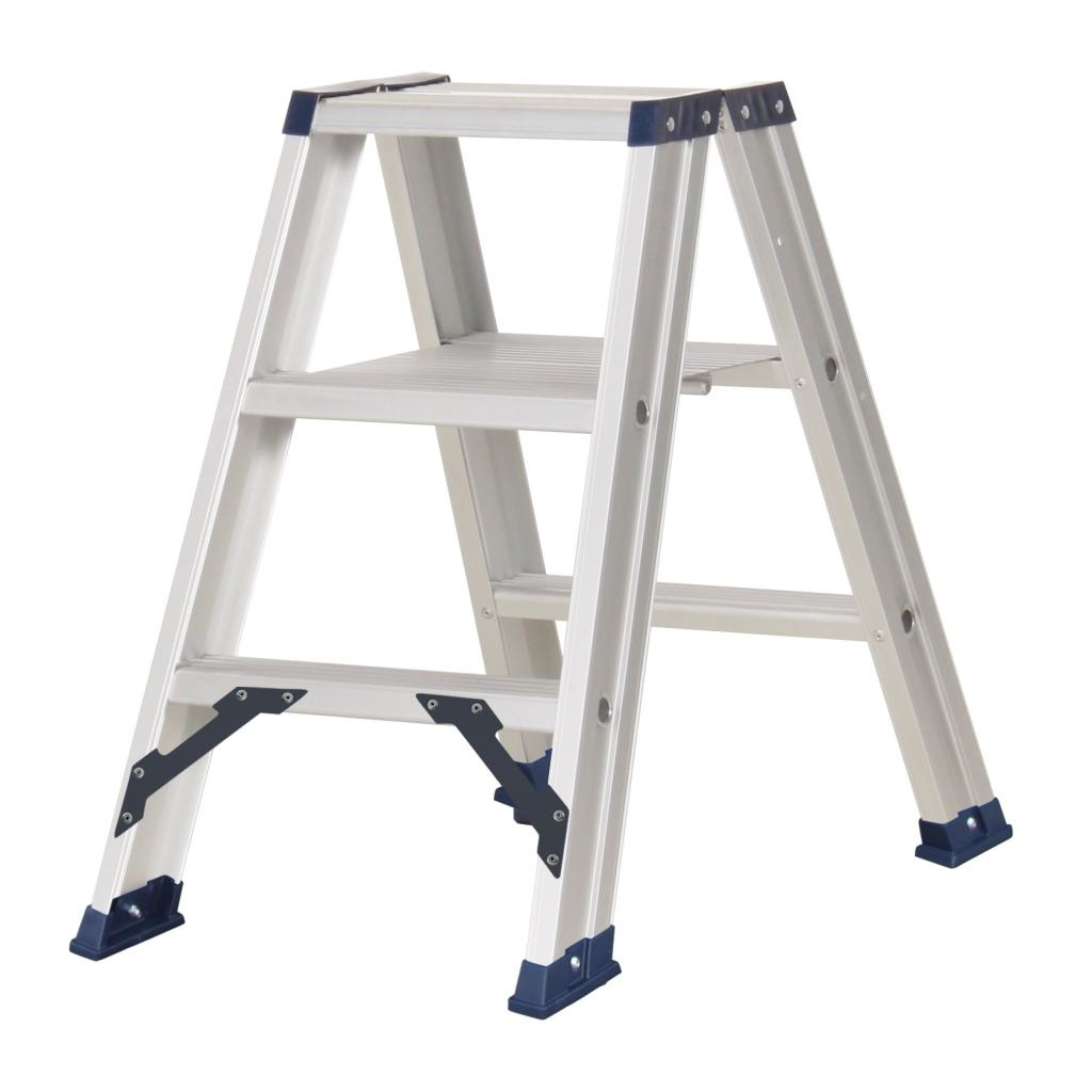 Das Ladders Das Hercules ano dubbele trap 2 x 3 treden DT3A