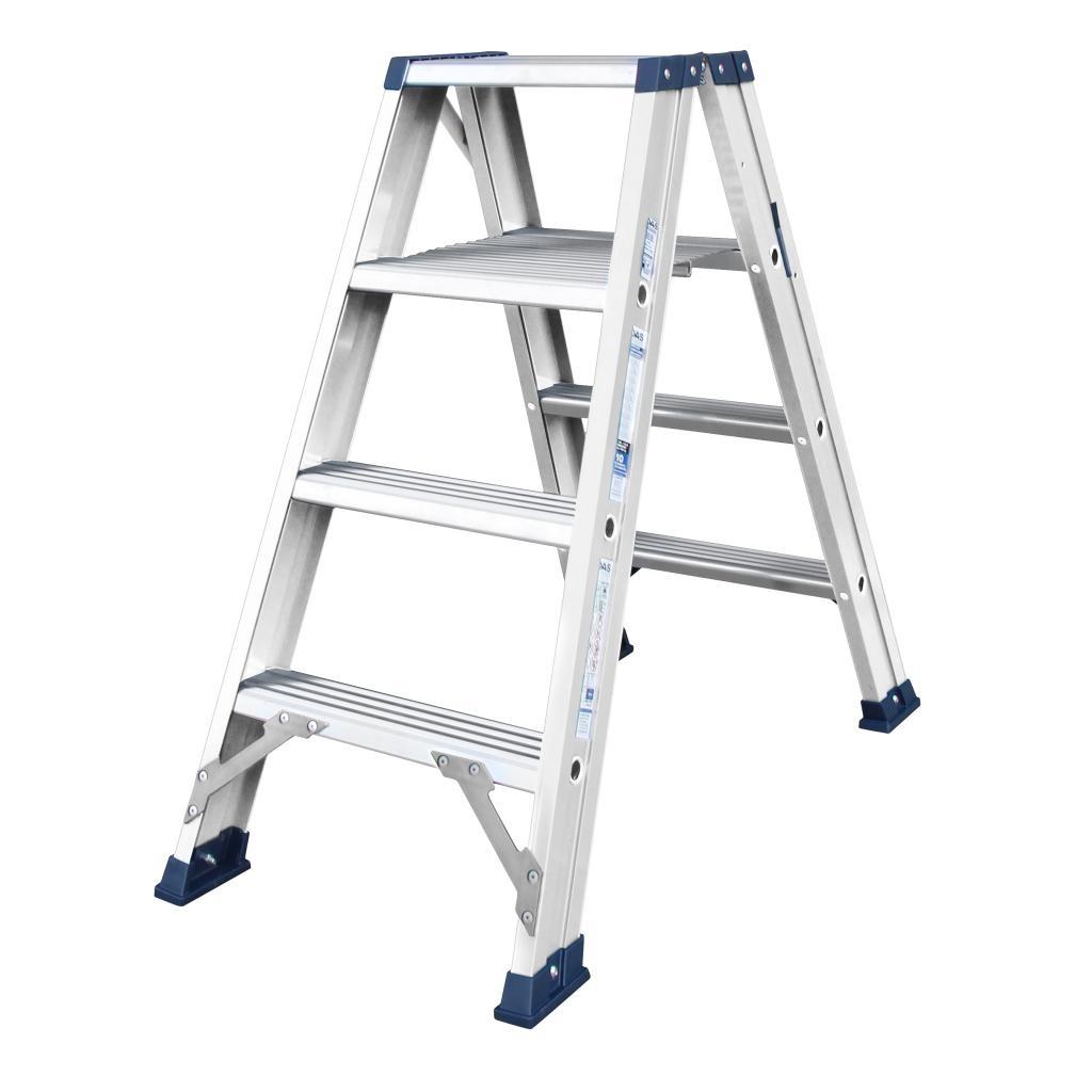 Das Ladders Das Hercules ano dubbele trap 2 x 4 treden DT4A