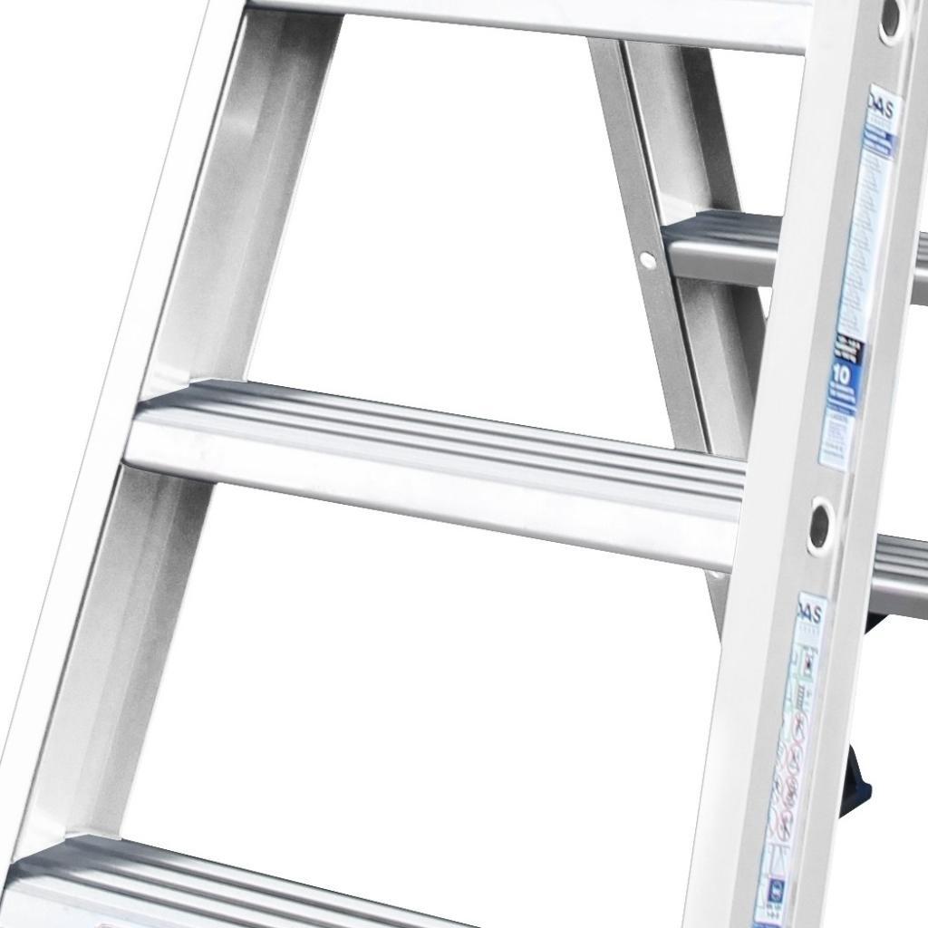 Das Ladders Das Hercules ano Stehleiter beidseitig begehbar 2 x 4 Sprossen DT4A