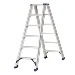 Das Ladders Das Hercules ano Stehleiter beidseitig begehbar 2 x 6 Sprossen DT6A