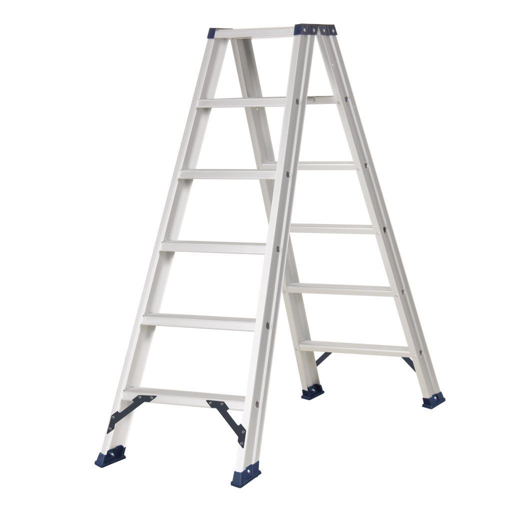 Das Ladders Das Hercules ano dubbele trap 2 x 6 treden DT6A
