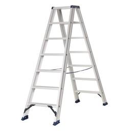Das Ladders Das Hercules ano Stehleiter beidseitig begehbar 2 x 7 Sprossen DT7A