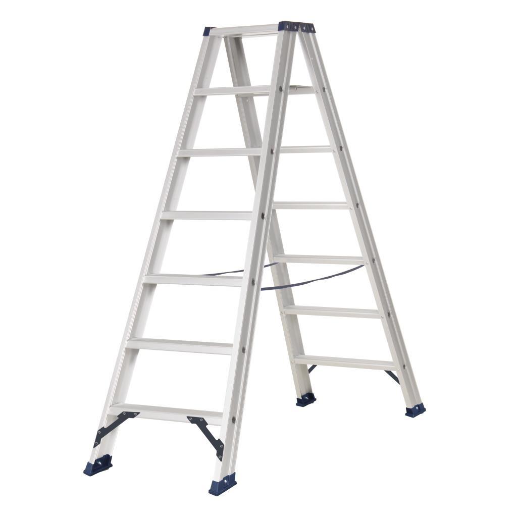 Das Ladders Das Hercules ano dubbele trap 2 x 7 treden DT7A