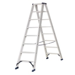 Das Ladders Das Hercules ano Stehleiter beidseitig begehbar 2 x 8 Sprossen DT8A