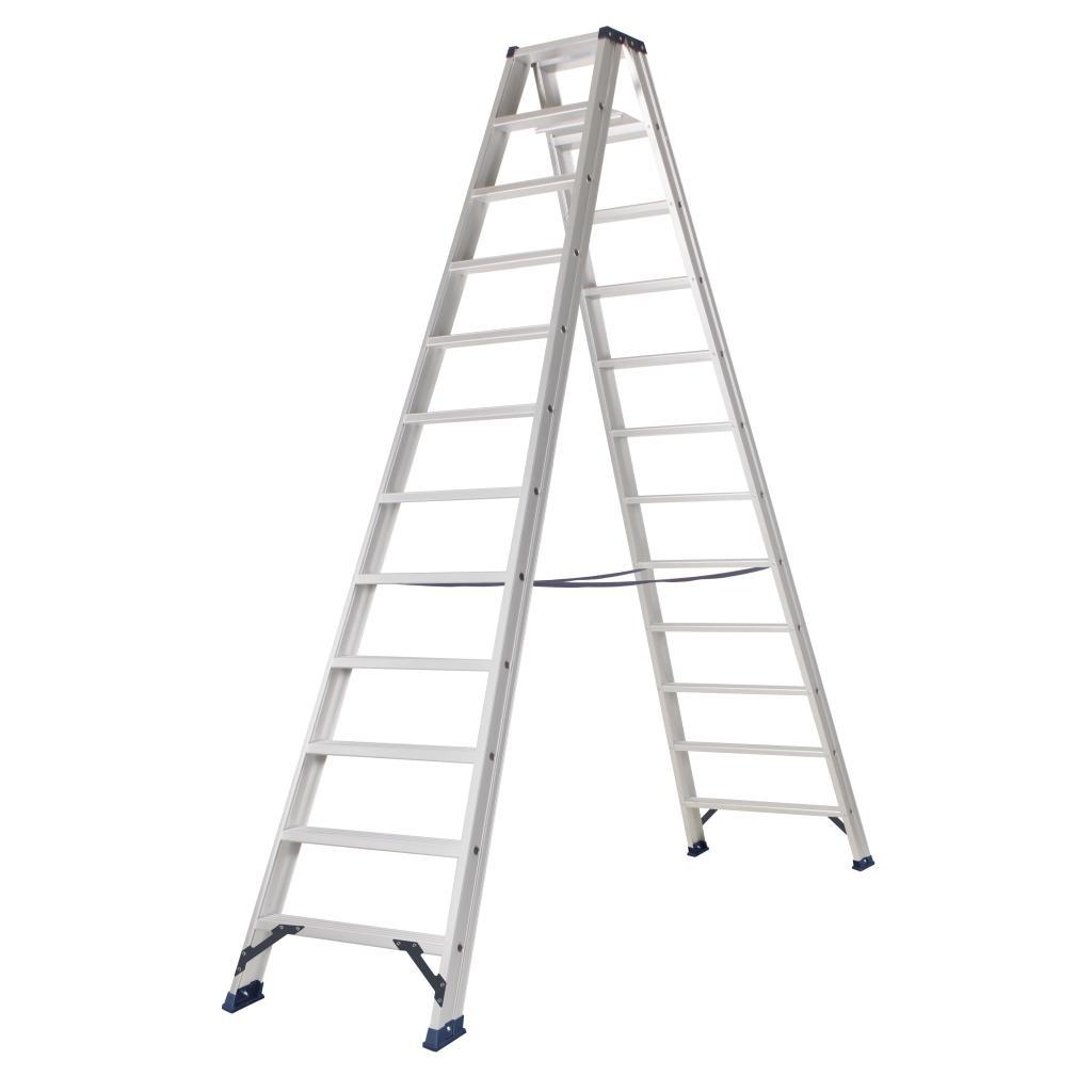 Das Ladders Das Hercules ano dubbele trap 2 x 12 treden DT12A