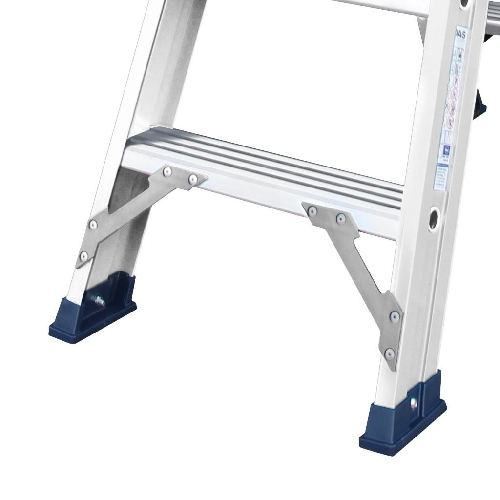 Das Ladders Das Hercules ano Stehleiter beidseitig begehbar 2 x 12 Sprossen DT12A