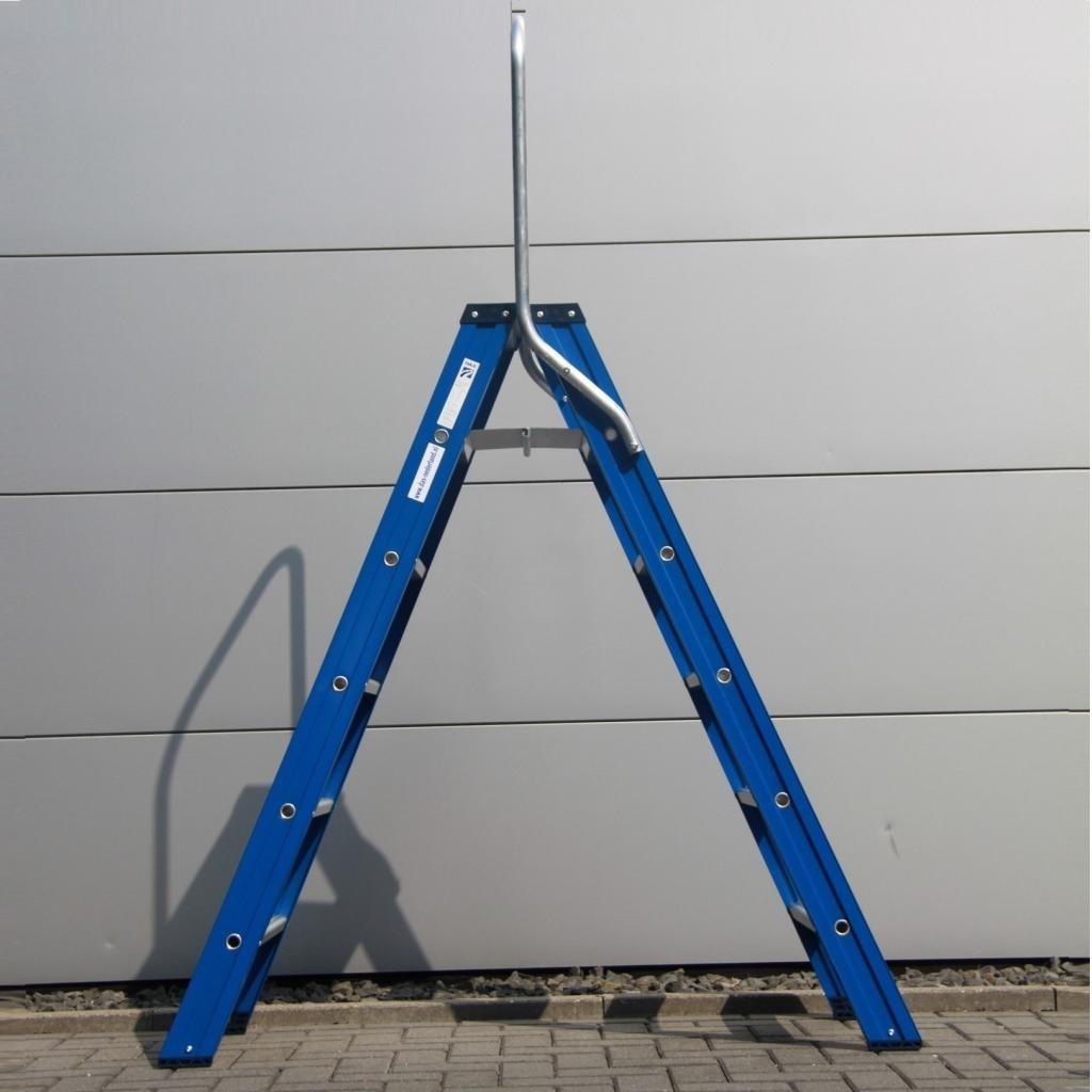 Das Ladders Das Hercules blue Doppel-Klapptritt 2x6 Stufen DT6B