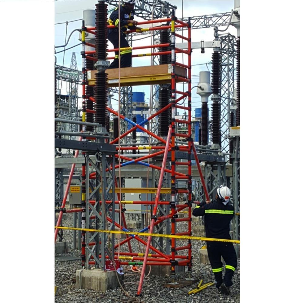 Rolsteiger kunststof carbon 70 x 250 x 7 m werkhoogte