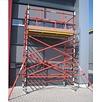 GFK Gerüst glasfaserverstärktem Kunststoff 120 x 250 x 6 m Arbeitshöhe