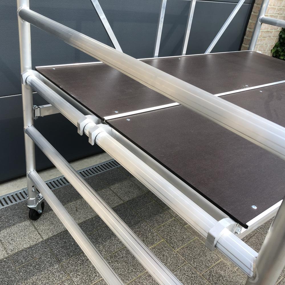 EuroScaffold Kamersteiger breed 135x190 werkhoogte 3 m