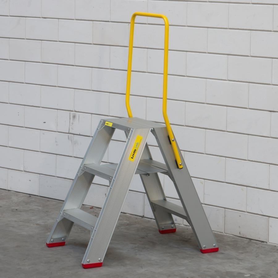 Little Jumbo Little Jumbo SuperPRO Stufen-Doppelleiter 2x3 Sprossen