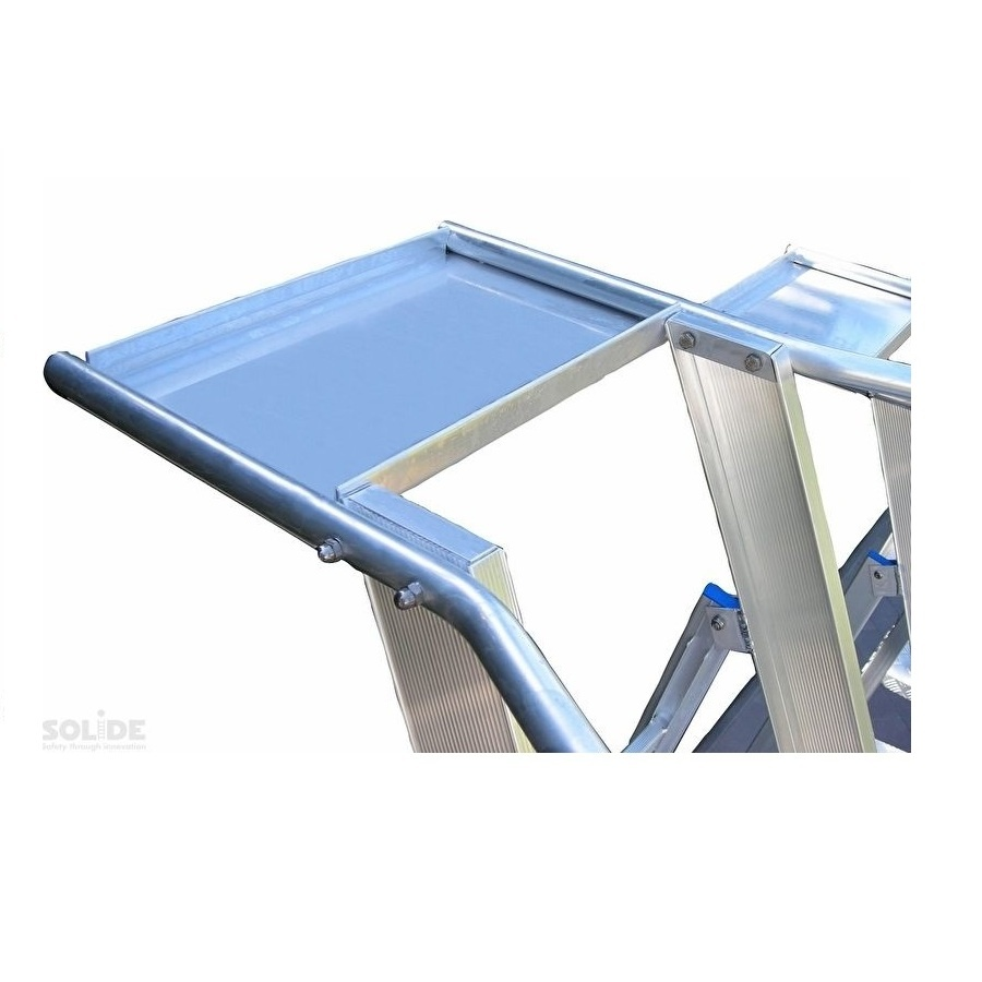 Solide Solide plateforme mobile pliable 12 marches PMP12