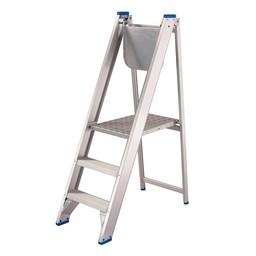 Solide Solide Stehleiter für Maler mit 3 Stufen