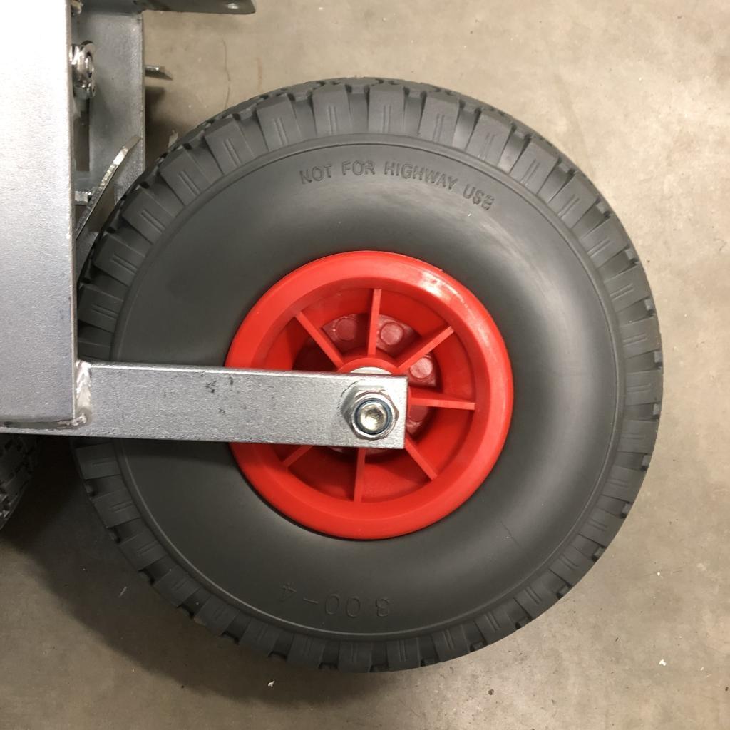 ASC Gerüstrollen Geländerad 260 mm (2 stück)