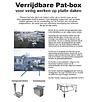 ASC Pat-Box mobile Handlaufsicherung Flachdach