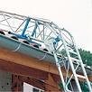 Comabi Ladderlift Apache 10,4 m met knikstuk