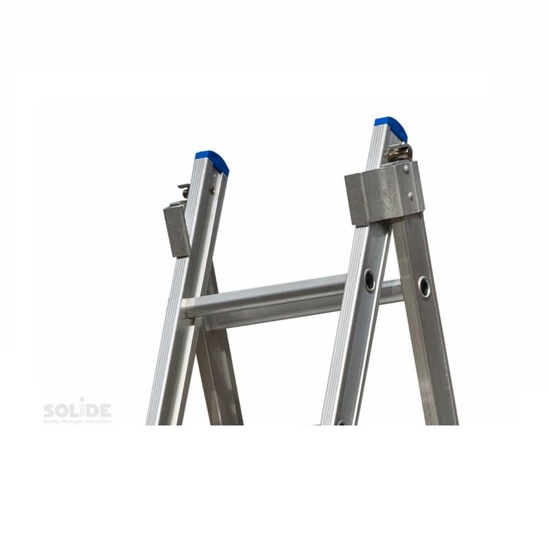 Solide Solide omvormbare ladder 2x9 sporten