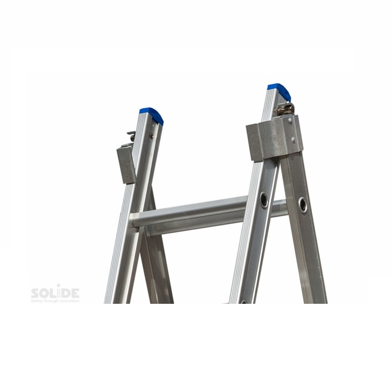 Solide Solide omvormbare ladder 2x12 sporten