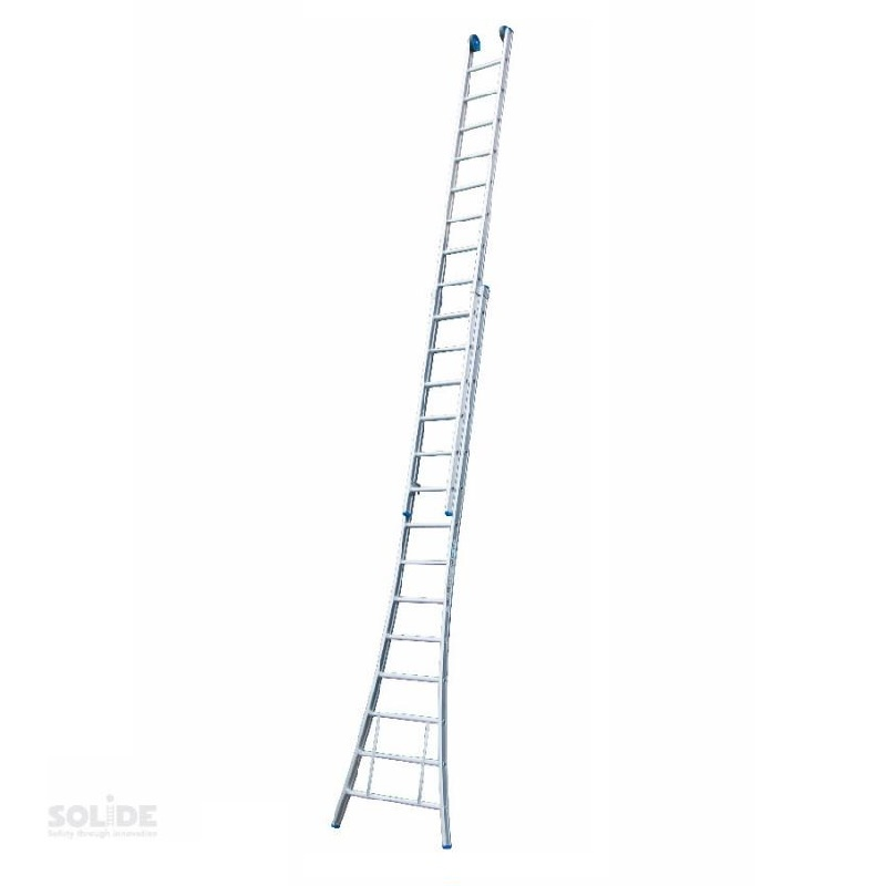 Solide Solide omvormbare ladder 2x14 sporten