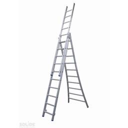 Solide Solide omvormbare ladder 3x10 sporten
