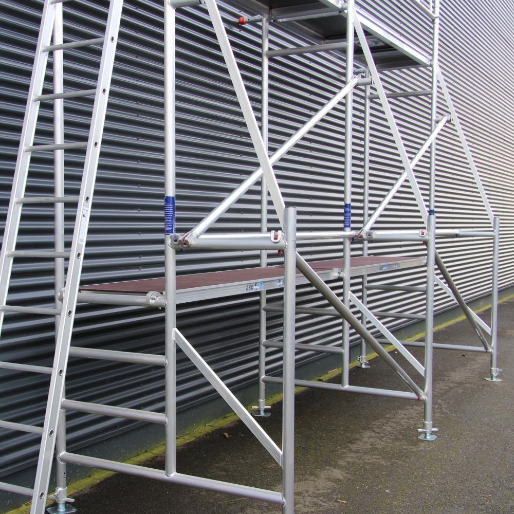 ASC Malergerüst 1,35 x 8,0 x 5,0 m Arbeitshöhe