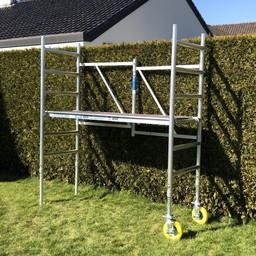 ASC Échafaudage de jardin A-Line hauteur de travail 3,00 m