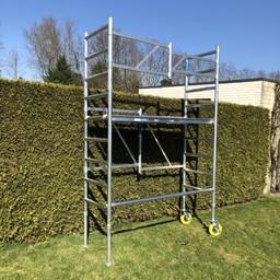 ASC Échafaudage de jardin A-Line hauteur de travail 3,85 m